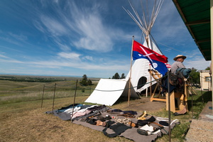 USA - champ de bataille de Little Bighorn